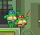 İki Kişilik Ninja Kaplumbağalar