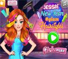 Jessie Yeni Yıl Saç Modelleri