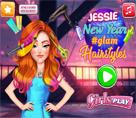 Jessie Yeni Yıl Saçları