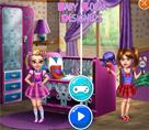 Kız Kardeşlerin Renkli Odası