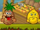 Komik Suratlı Meyveler