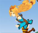 Koşucu Kız 3d