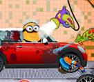 Minion Araba Yıkama