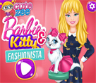 Modacı Barbie ve Kedisi