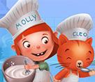 Molly ve Cleo ile Kek Yap