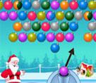 Noel Baba Balon Patlatma