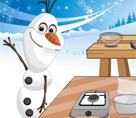 Olaf Tatlı Yapıyor
