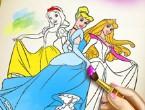 Prenseslerin Boyama Kitabı