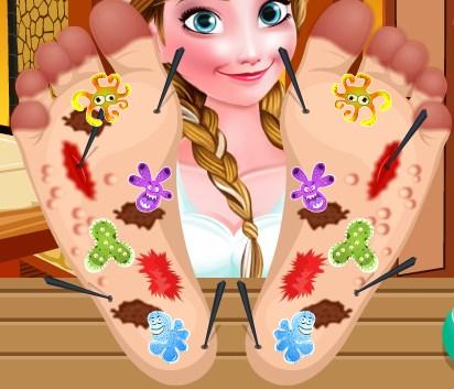 Frozen Anna Ayak Bakımı
