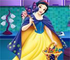 Pamuk Prenses Cadılar Bayramı Keki