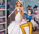 Pamuk Prenses Elbise Tasrımı