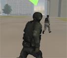 Polis ve Terörist 3d