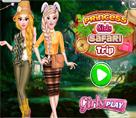 Prenses Kızlar Safari Gezisi
