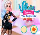 Prensesin Dört Farklı Kıyafeti
