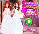 Prensesin Gelinlik Tasarımı