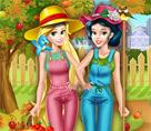 Prensesler Bahçe Bakımı