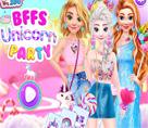 Prensesler ile Unicorn Partisi
