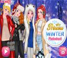 Prensesler Kış Mevsimi Fotoğraf Çekimi
