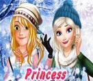 Prensesler Kış Okulunda