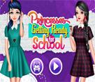Prensesler Okula Hazır