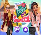 Prensesler Okuldan Bir Gün