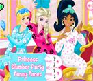 Prensesler Pijama Partisi