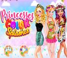 Prensesler Renkler Partisinde