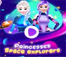 Prensesler Uzay Yolunda