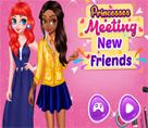 Prensesler Yeni Arkadaşları İle Buluşuyor