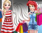 Prensesler Alışverişte
