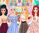 Prenseslerin Doğum Günü Kıyafetleri