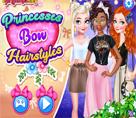 Prenseslerin Fiyonklu Saçları
