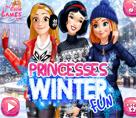 Prenseslerin Kış Eğlencesi