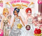 Prenseslerin Markalı Gelinlikleri
