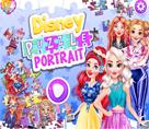 Prenseslerin Puzzle Portreleri