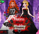 Prenseslerin Siyah Gelinlikleri