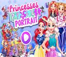 Prenseslerin Yapboz Portreleri