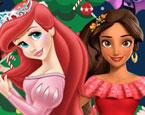 Prensesler Yeni Yıl Hazırlığı