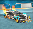 Punk Arabalar 3d