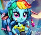 Rainbowdash Moda Kızı