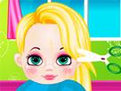 Rapunzel Bebek Gerçek Saç Kesimi