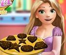 Rapunzel Çikolata Yapıyor