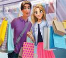 Rapunzel ve Flynn Alışverişte