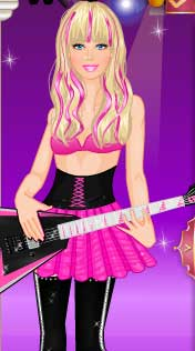 Rockcı  Star  Barbie