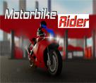Şehirde Yarış Motoru Sürme