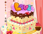 Sevgi Dolu Pasta