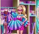 Süper Barbie Elbise Dolabı