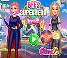 Süper Kahraman Dört Prenses