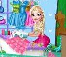 Terzi Elsa İle Elbise Tasarımı