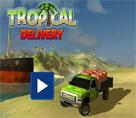 Tropik Bölgelerde Kamyon Sürme 3d